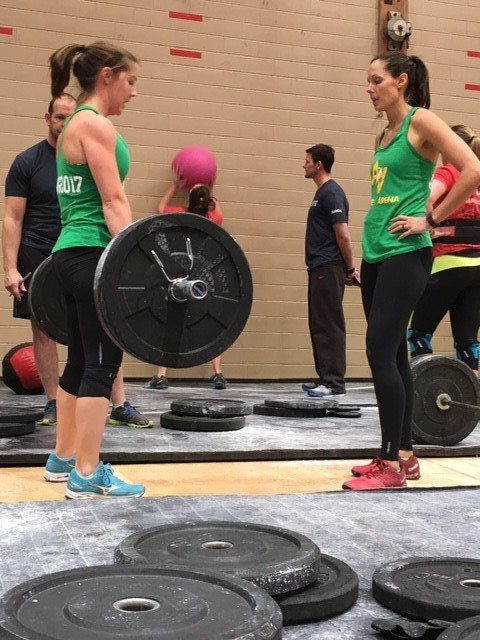 Kelly & Sarah Deadlift